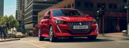 Presentatie stadswagens van Peugeot
