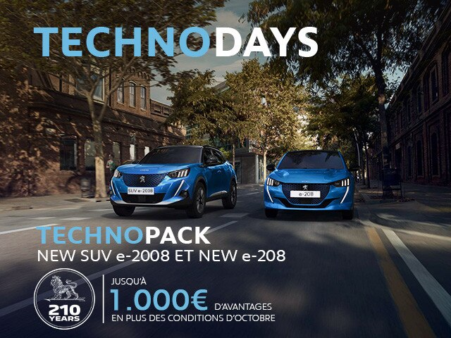 PEUGEOT - TECHNODAYS ELECTRIC
