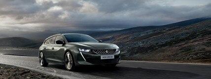 Presentatie breaks van Peugeot