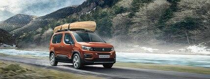 Presentatie gezinswagens van Peugeot
