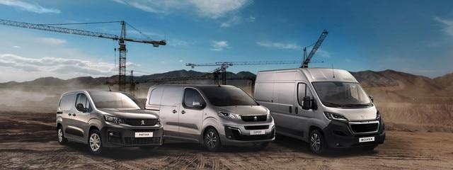 Presentatie Bedrijfsvoertuigen van Peugeot