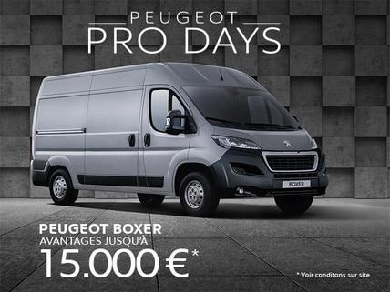 PRODAYS - PEUGEOT BOXER