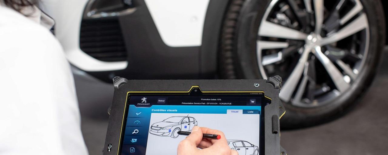 Peugeot - gestion environnementale des produits hors d'usage