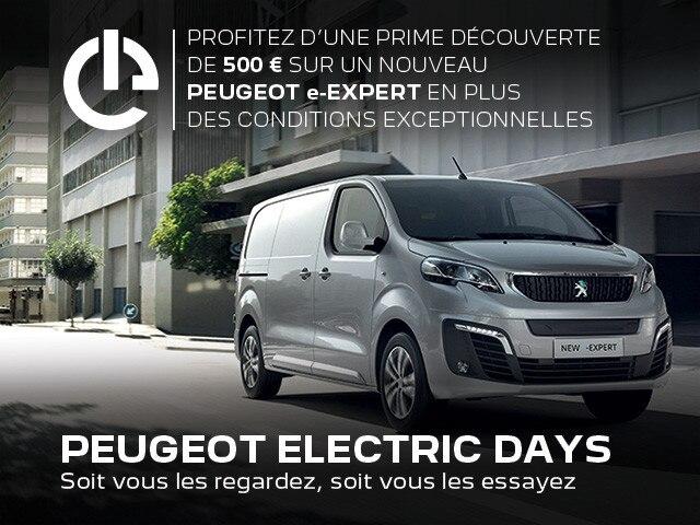 PEUGEOT ELECTRIC DAYS | NOUVEAU e-EXPERT