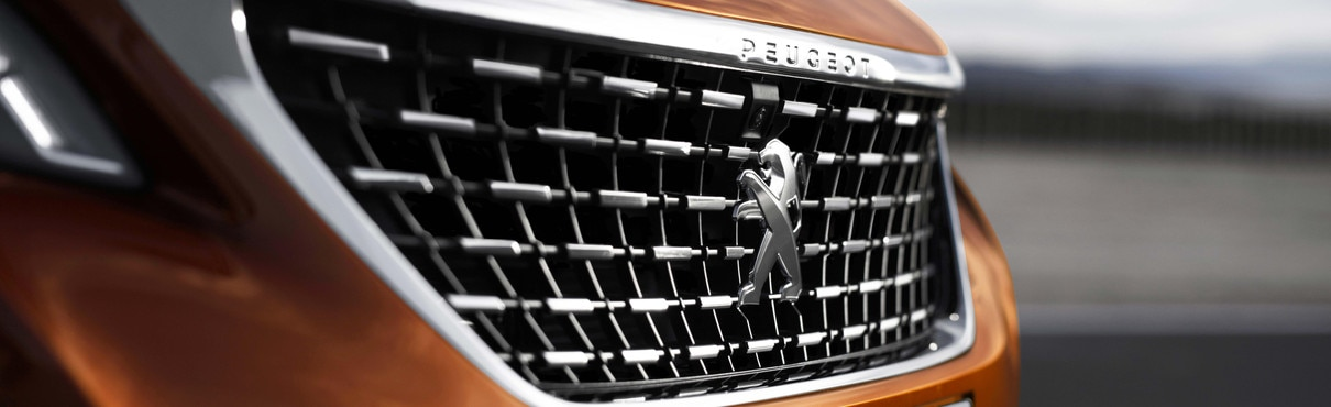 Innovations et Technologies : calandre Nouveau SUV PEUGEOT 3008