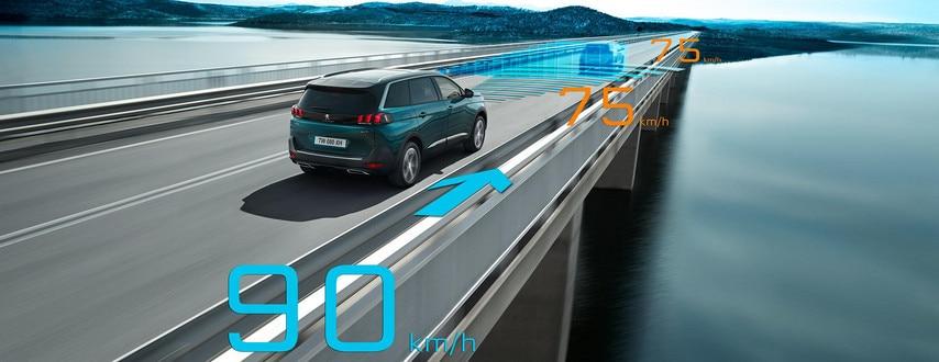 Peugeot SUV 5008 : Aides à la conduite