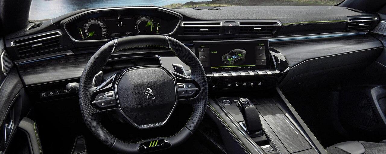 Nieuwe 508 PEUGEOT SPORT ENGINEERED : Peugeot i-Cockpit