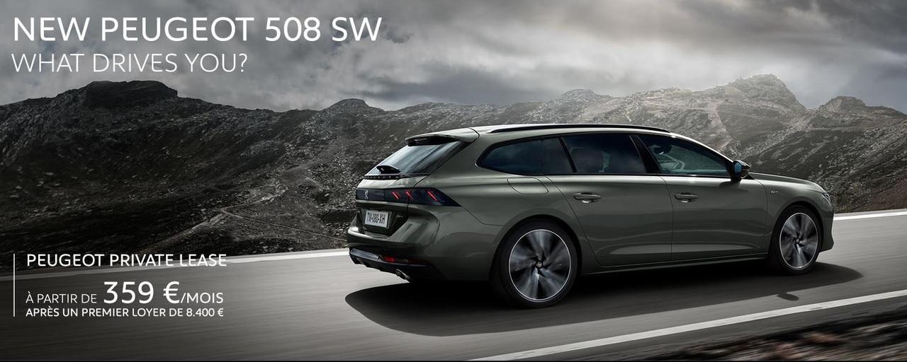 Peugeot 508 SW Homepage