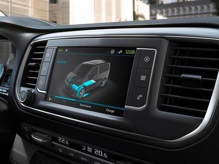 Nieuwe Peugeot e-Expert – 3D touchscreen