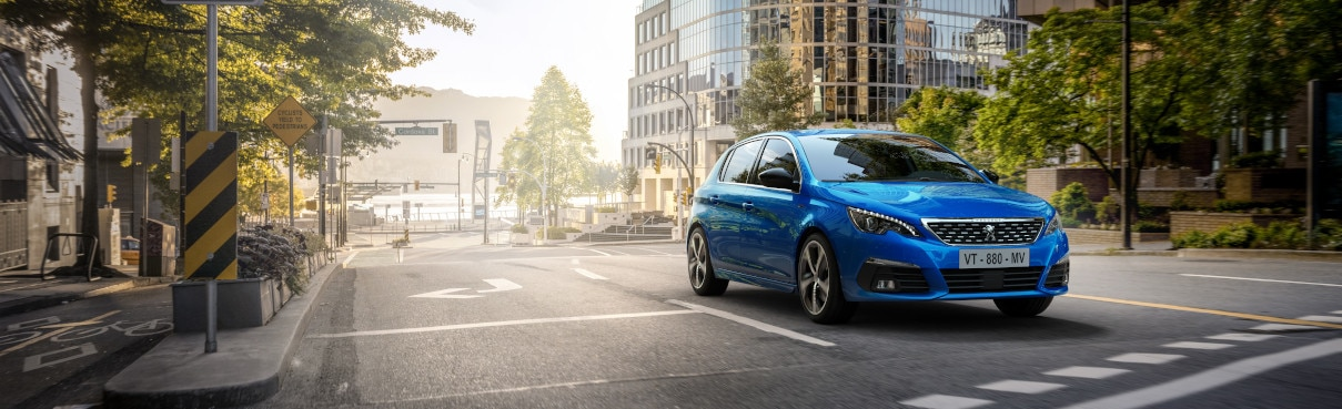 Gamme Véhicule de société Peugeot