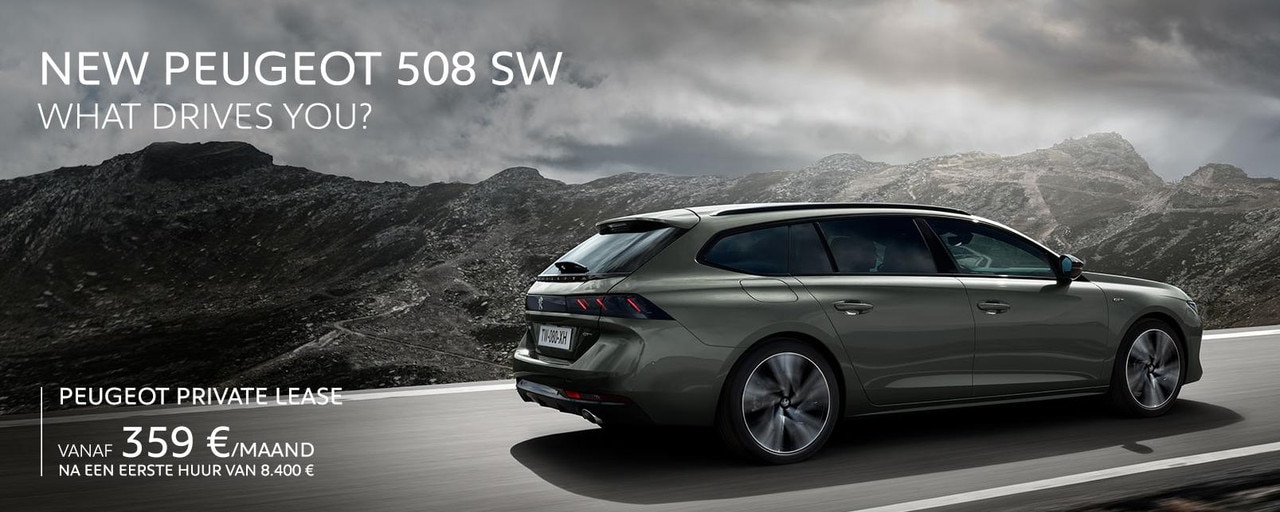Peugeot 508 SW Homepage