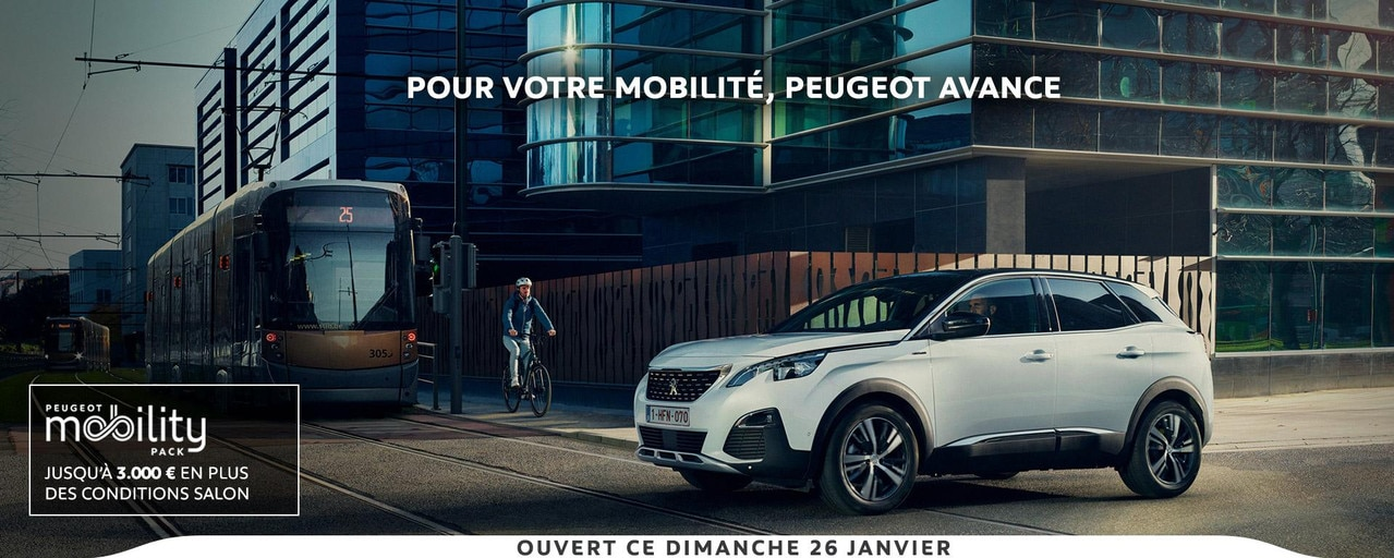 Peugeot Mobility Pack