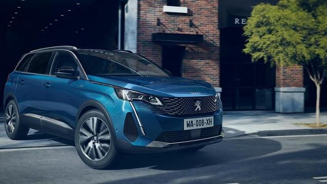 Nieuwe grote SUV Peugeot 5008 tot 7 zitplaatsen
