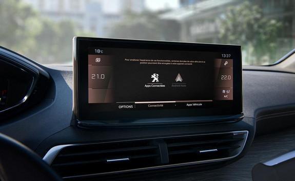 Nieuwe SUV Peugeot 5008: gemoderniseerde Peugeot i-Cockpit® met nieuw kwalitatief touchscreen