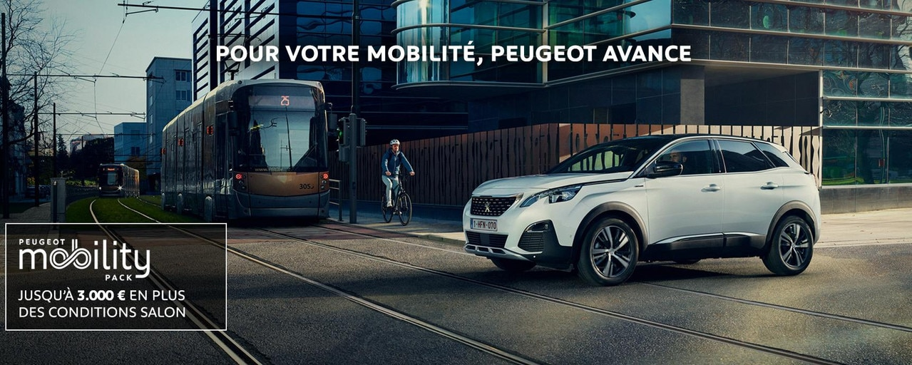 Peugeot pack mobility