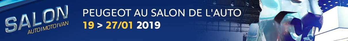 Brussels Motor Show 2019 Peugeot