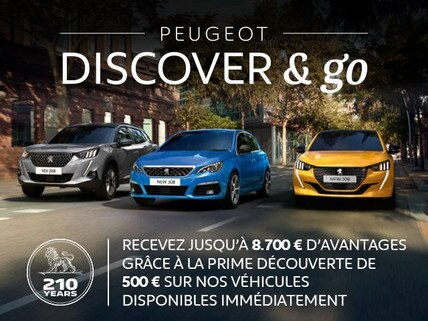 PEUGEOT - DISCOVER & GO