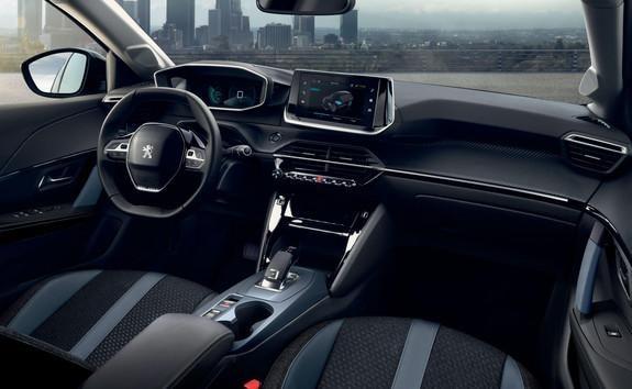 Peugeot e-208 - Peugeot 3D i-Cockpit