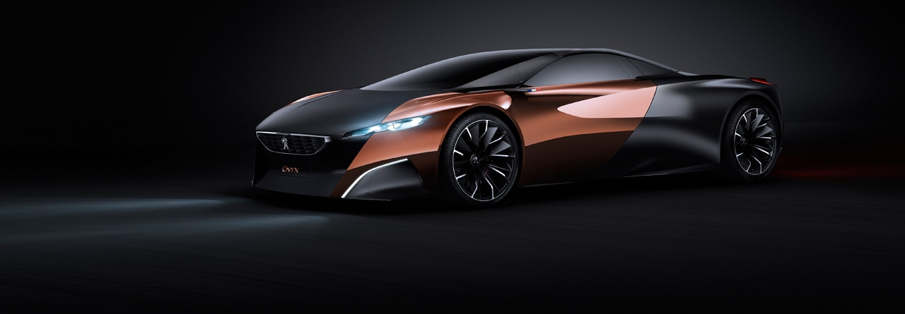 peugeot onyx concept car. Black Bedroom Furniture Sets. Home Design Ideas