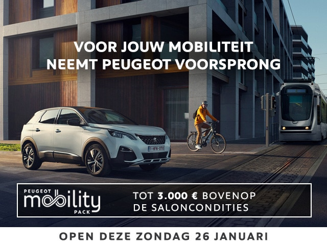 Peugeot Promotion Mobility Pack