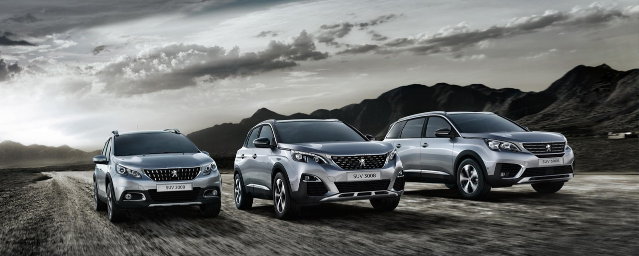 Gamme SUV Peugeot