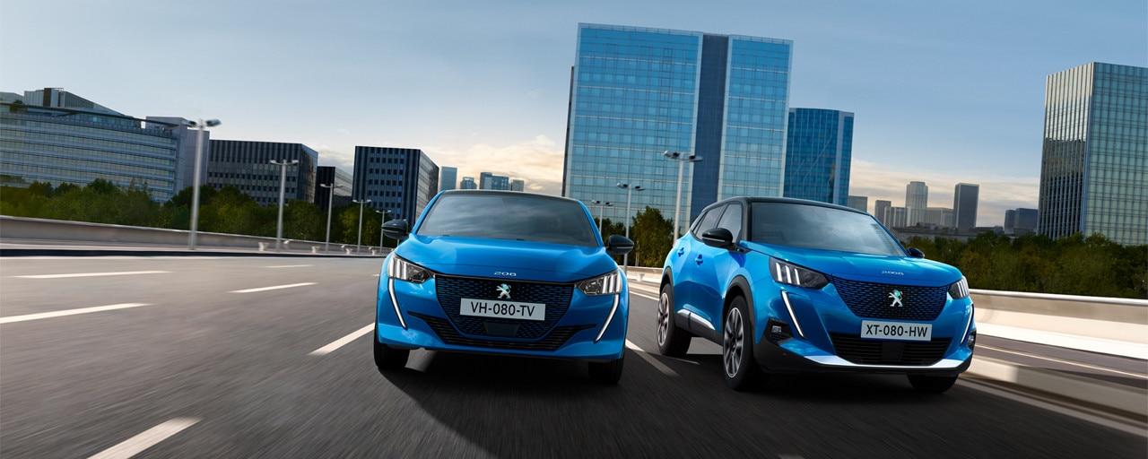Peugeot Gamme Electrique