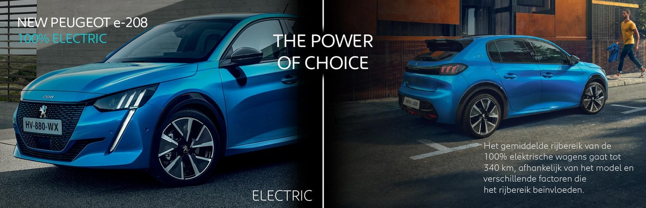Peugeot Power of choice