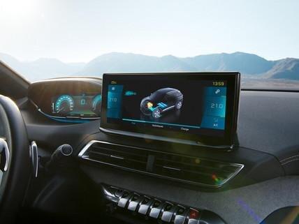 Nieuwe SUV Peugeot 3008 HYBRID – Nieuw touchscreen 10'' HD