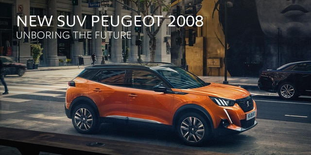 SUV 2008 Brussels Motor Show 2020 Peugeot