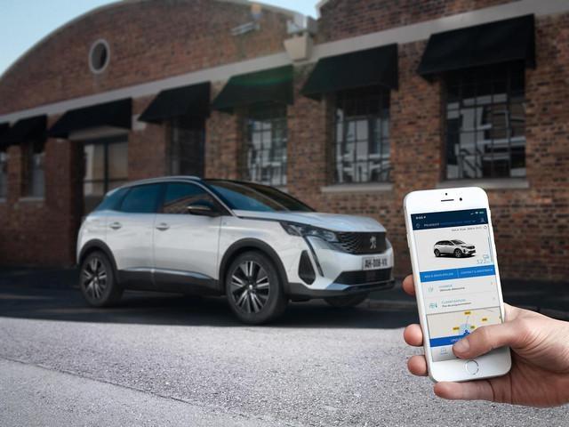 Nieuwe SUV Peugeot 3008 HYBRID – MyPeugeot Applicatie