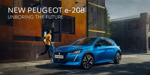 SUV e208 Brussels Motor Show 2020 Peugeot