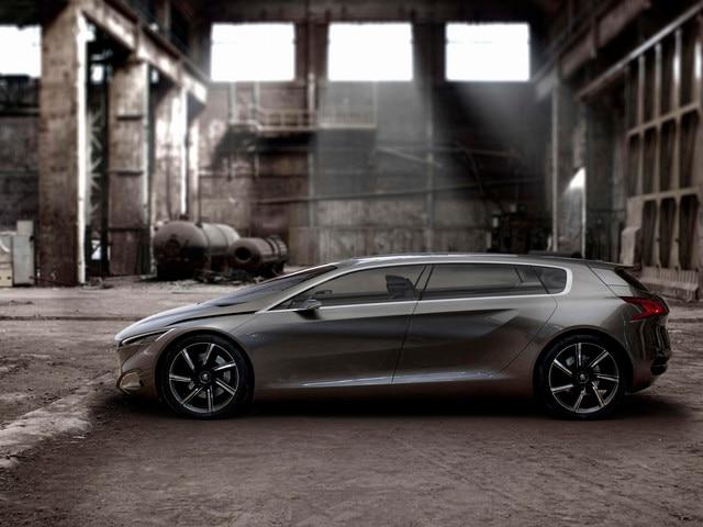 Peugeot HX1 - Vue extérieure fermée du Concept car