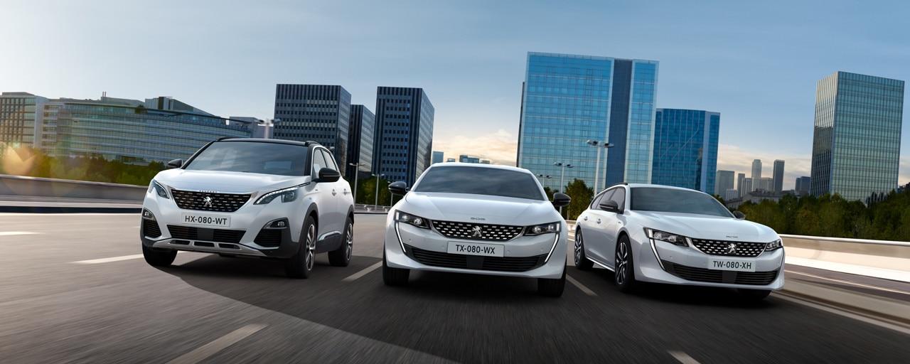 Gamme Peugeot Plug-in Hybrid