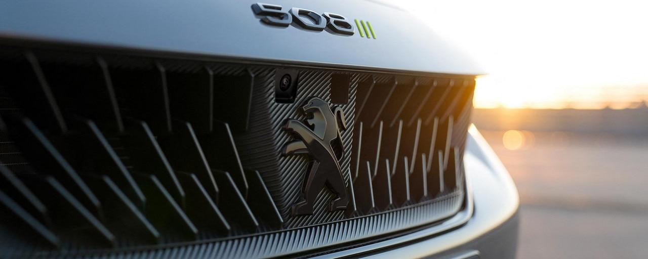 Nouvelle 508 PEUGEOT SPORT ENGINEERED : Nouvelle calandre noire iconique