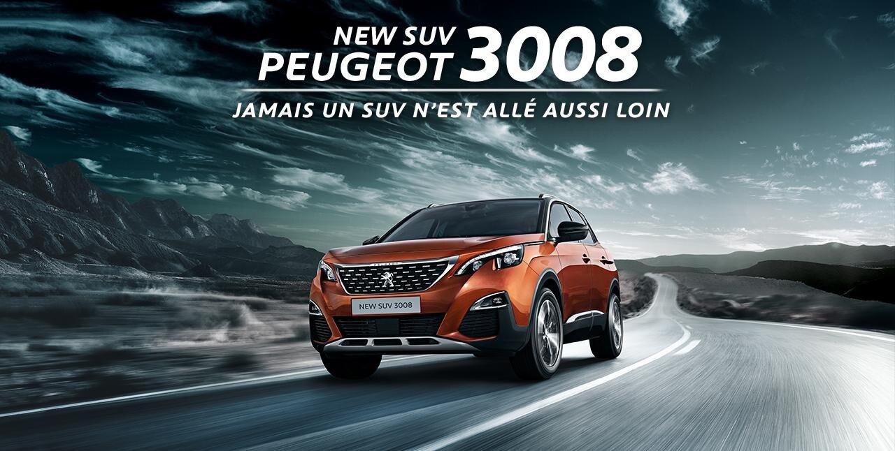 NEW SUV 3008