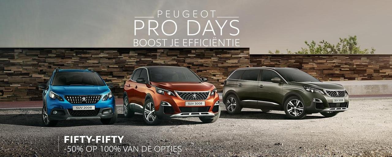 Peugeot Pro Days VP Slider Homepage