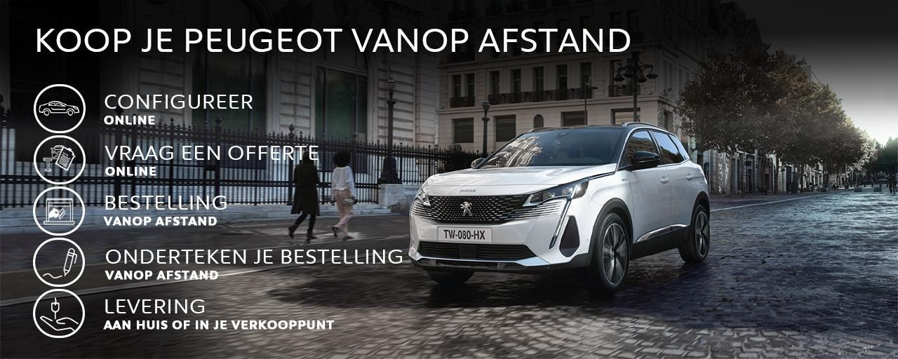 PEUGEOT - VANOP AFSTAND