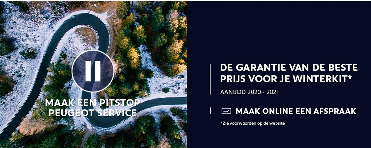 PEUGEOT SERVICE - Winterkit