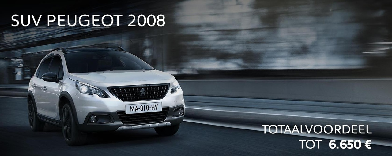 Promo Slice : Peugeot SUV 2008