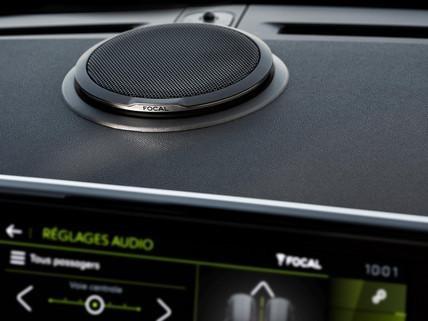 SUV PEUGEOT 2008: sonorisation premium Hi-Fi Focal®