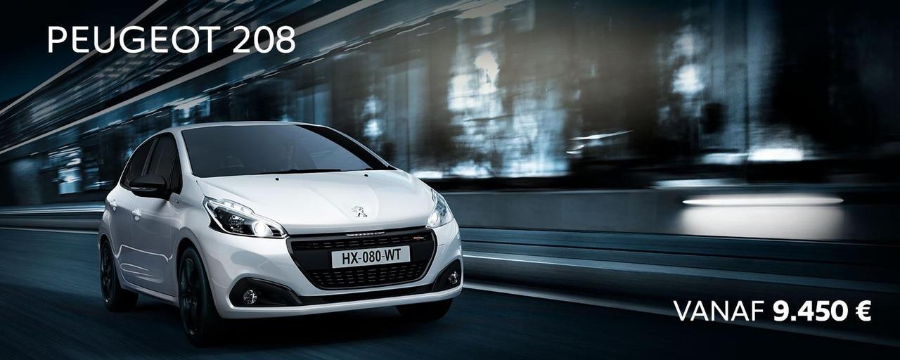 Promo Slice : Peugeot 208