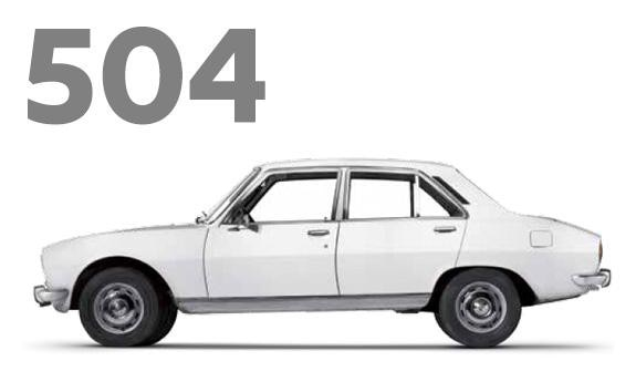 Peugeot 504 Car Of The Year 1969
