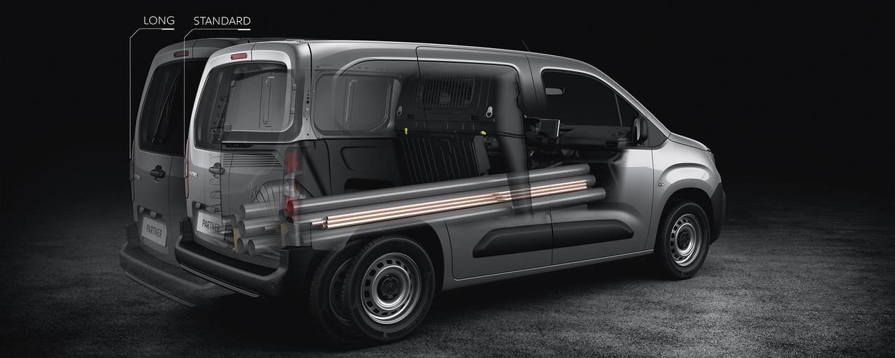 Peugeot Partner : Standard et Long
