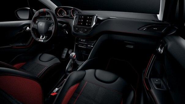 Peugeot 208 GTi : peugeot i-Cockpit, avec combiné tête haute et volant compact