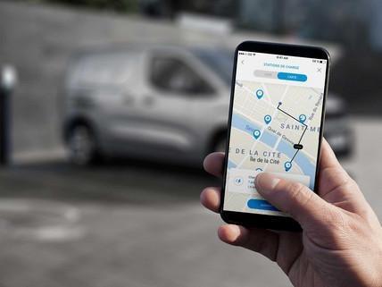 Nieuwe Peugeot e-Partner: toegang tot de mobile MyPeugeot-applicatie