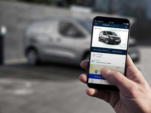 Nieuwe Peugeot e-Partner: MyPeugeot Applicatie