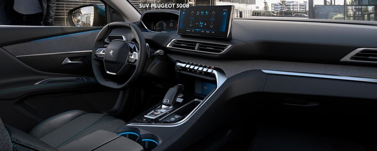 Nouveau SUV PEUGEOT 3008 -Grand intérieur et Peugeot i-Cockpit®
