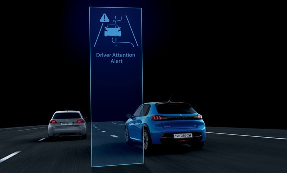 Peugeot Drive Attention