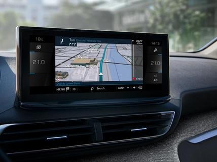 Nieuwe SUV Peugeot 3008 - Nieuw touchsreen