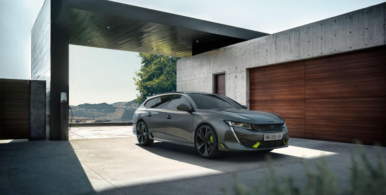 NIEUWE 508 SW PEUGEOT SPORT ENGINEERED